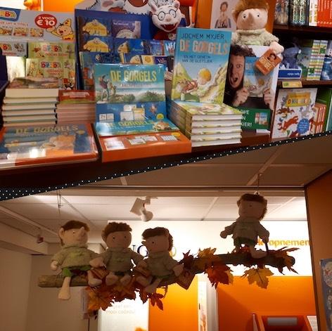 Etalage boekhandel